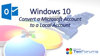 Windows 10 - Convert an MS Account to a Local Account