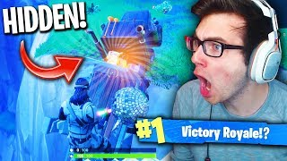 SECRET CHEST CHALLENGE IN FORTNITE! (Fortnite: Battle Royale Hidden Chest)
