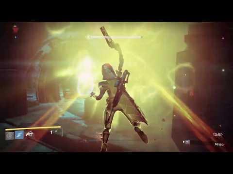 Destiny 1, Nightfall, Hunter Gunslinger, The Undying Mind (4-5-20)