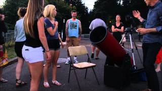 Astronomy On Mount Tabor for the Public July 5th 2014