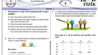 12+Mezun Fizik Meb Kazanım Testleri-9