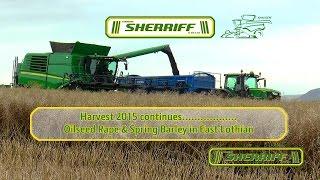 Video Harvesting Oilseed Rape and Spring Barley with MY2016 John Deere T670 download MP3, 3GP, MP4, WEBM, AVI, FLV Desember 2017