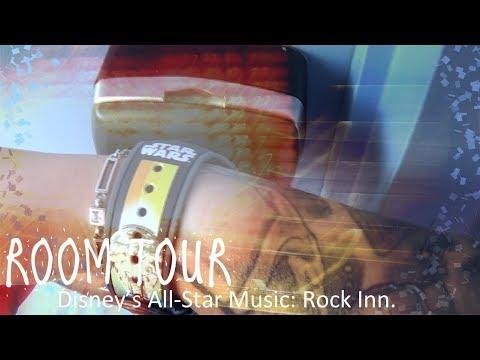 Room Tour: Disney's All-Star Music Value Resort, Rock Inn.