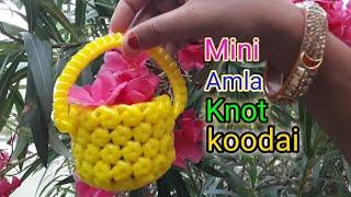 Mini Amla Knot Pooja Basket For Beginners