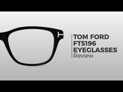 ee2c00fe0330b Tom Ford FT5196 Eyeglasses - SmartBuyGlasses - YouTube