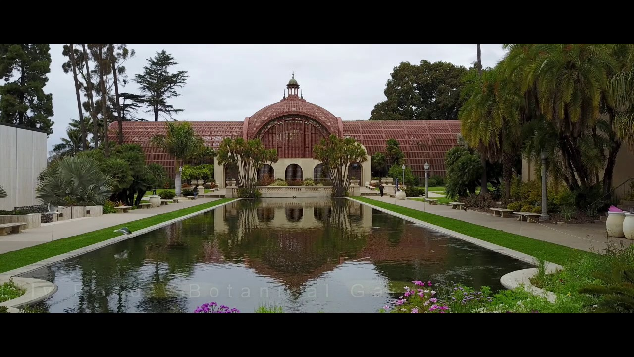 Over Balboa Park - DJI Mavic Pro - YouTube