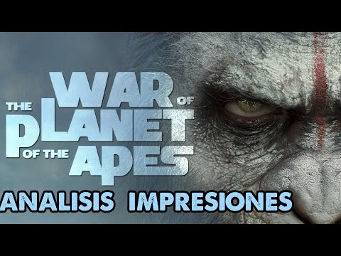 War for the Planet of the Apes | Oficial Trailer |Analisis | Impresiones | Matt Reeves | Andy Serkis