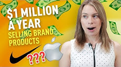 How to Make $1 Million in a YEAR Selling Brand Products (NO Paid Ads or Traffic Required!)