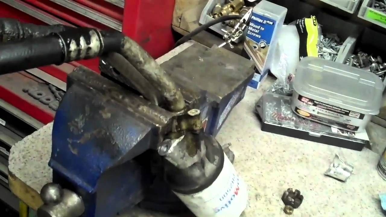 1999 f150 fuel filter how to fix the oil leak on your ford excursion youtube  how to fix the oil leak on your ford excursion youtube