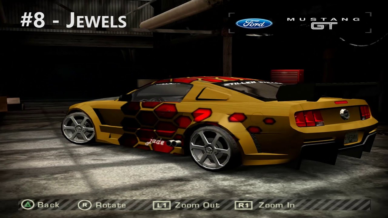 Need For Speed Most Wanted Beta Blacklist Cars Youtube