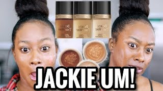 TOO FACED X JACKIE AINA BORN THIS WAY EXTENDED FOUNDATION REVIEW + CONCEALERS MORENITA FRIENDLY?