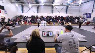 ASBJJ Blue Belt Lightweight Finals - Franky Lopez vs Nilo Mayo