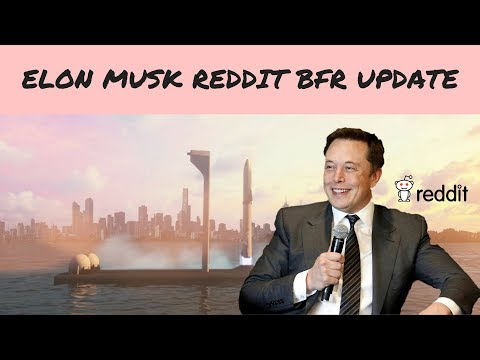 SpaceX Mars Colonization Update, Elon Musk Reddit Ask Me Anything
