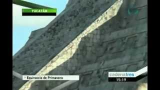 Desciende Kukulcán En Forma De Serpiente Con El Equinoccio De Primavera - CADENATRES Noticias