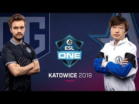 OG vs Aster - ESL One Katowice 2019 - Game 2