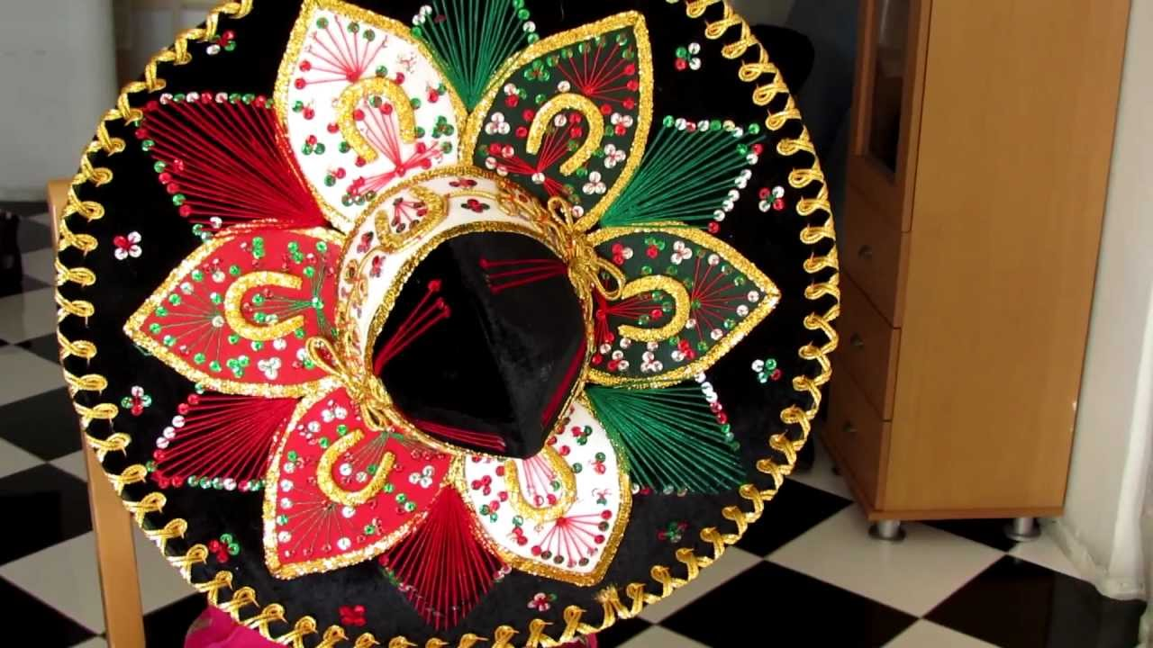 fabriquer un chapeau mexicain en papier. Black Bedroom Furniture Sets. Home Design Ideas