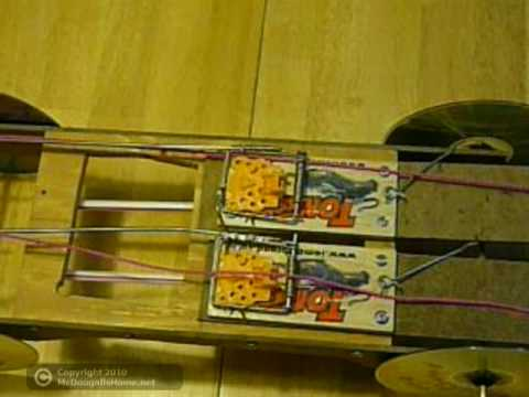 How to make a mousetrap car reversible youtube how to make a mousetrap car reversible malvernweather Image collections