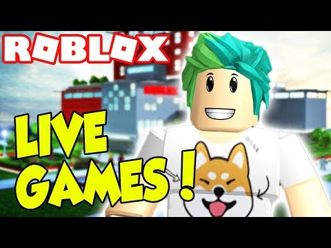 ROBLOX PLAYING SUPER RANDOM GAMES! | Roblox Live Stream