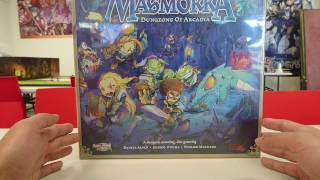 4am - Masmorra: Dungeons of Arcadia Unboxing (Core Game)