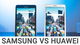 Comparison: Samsung Galaxy Tab A 2017 vs. Huawei MediaPad T3 8
