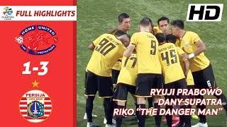 Video FULL HIGHLIGHTS! Home United 1-3 Persija Jakarta - ACL 2019 Preliminary Round 1 download MP3, 3GP, MP4, WEBM, AVI, FLV Agustus 2019