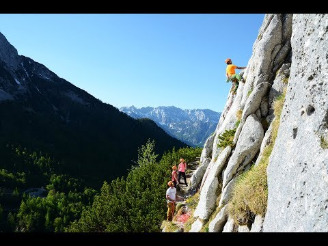 Rock Climbing in Julian Alps, Slovenia by LIFE Adventures