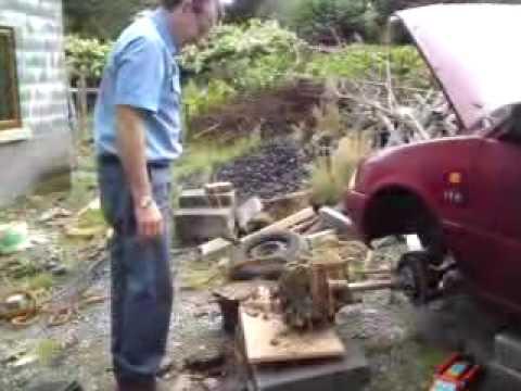 Car Log Splitter Youtube