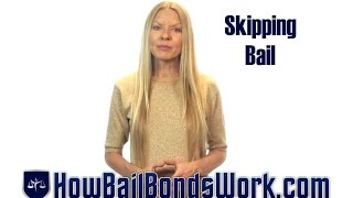 Skipping bail and what happens when you're caught