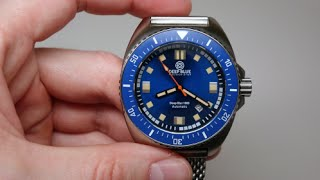 Deep Blue Deep Star 1000 Diver Watch Review Model: DSTARBLU