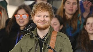 Ed Sheeran SPILLS That He's Forming A Boy Band & Performs On The Today Show