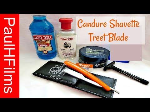 Candure Shavette -  Wilkinson Sword Classic - Maca Root