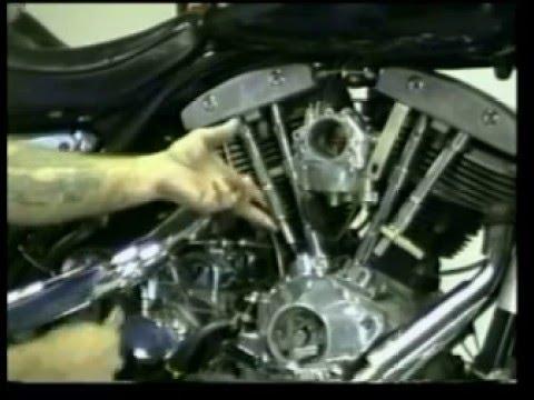 Harley ShovelHead pushrod adjustment