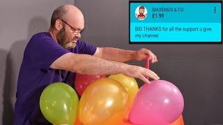 Balloon Bursting Final Edit no music Tangobaldy™ Family Friendly Fun video