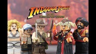 Custom Lego Indiana Jones and the Temple of Doom: Minifigures
