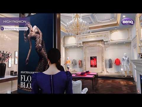 Introducing BenQ Digital Signage For Retail
