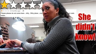 Taking Mom to Worst Rated Nail Salon in my City! (She Didn't Know..)