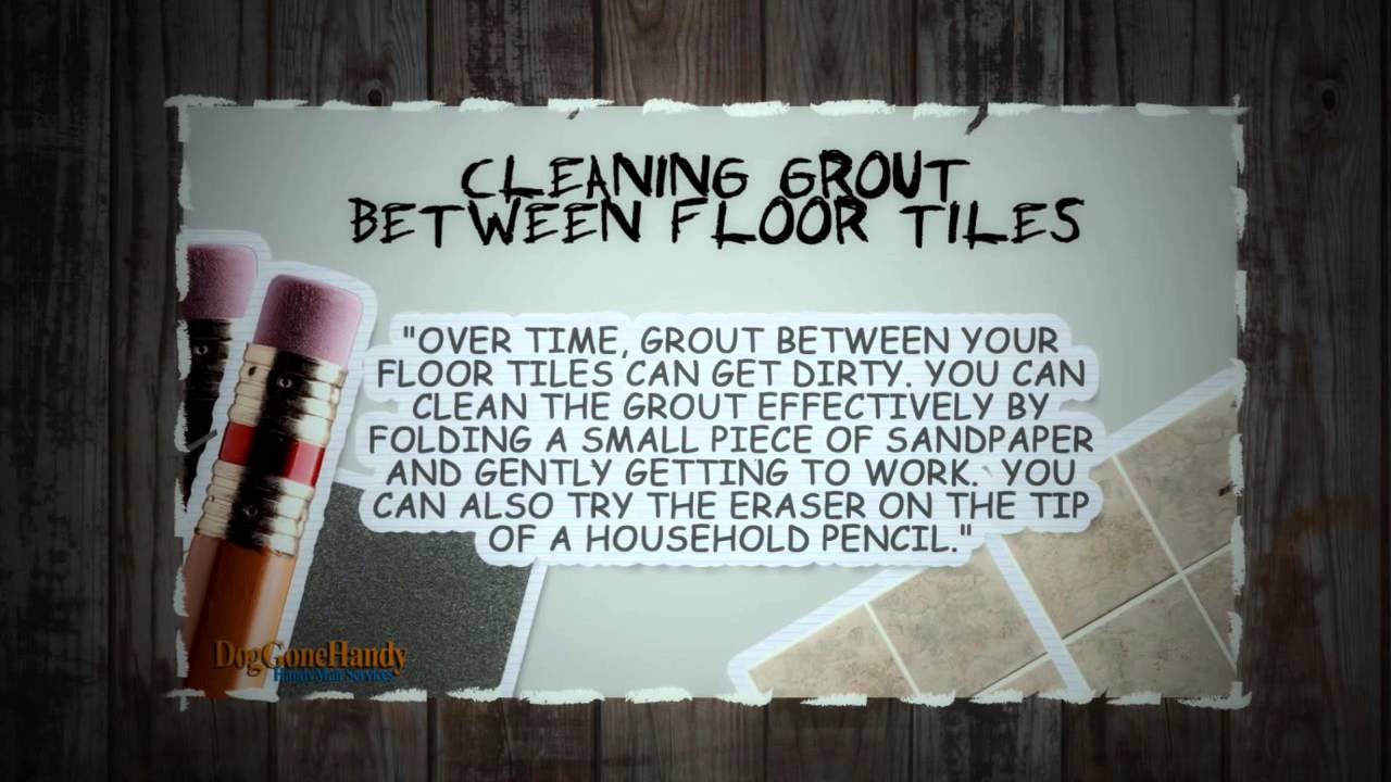 Clean dirty grout between floor tiles youtube clean dirty grout between floor tiles dailygadgetfo Choice Image
