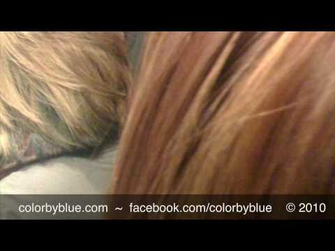 Blonde To Golden Copper Corrective Hair Color Youtube