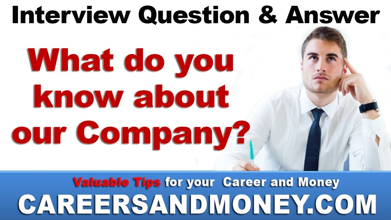 what can you bring to our company answers