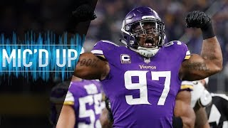 "Everson Griffen Mic'd Up vs. 49ers ""I Hope Y'all Brought Your Big Boy Pads!"" 