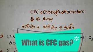 What is CFC ? #CFCGAS