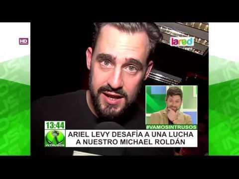 La gran noche de Ariel Levy: Se robó la película en la lucha libre