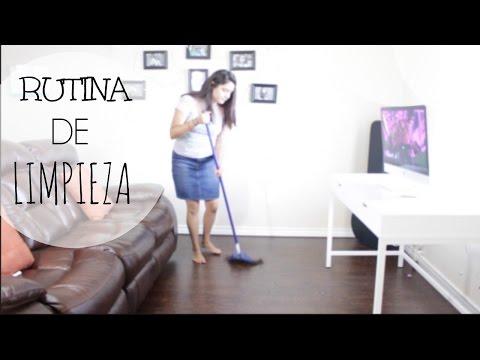 RUTINA LIMPIEZA DE CASA