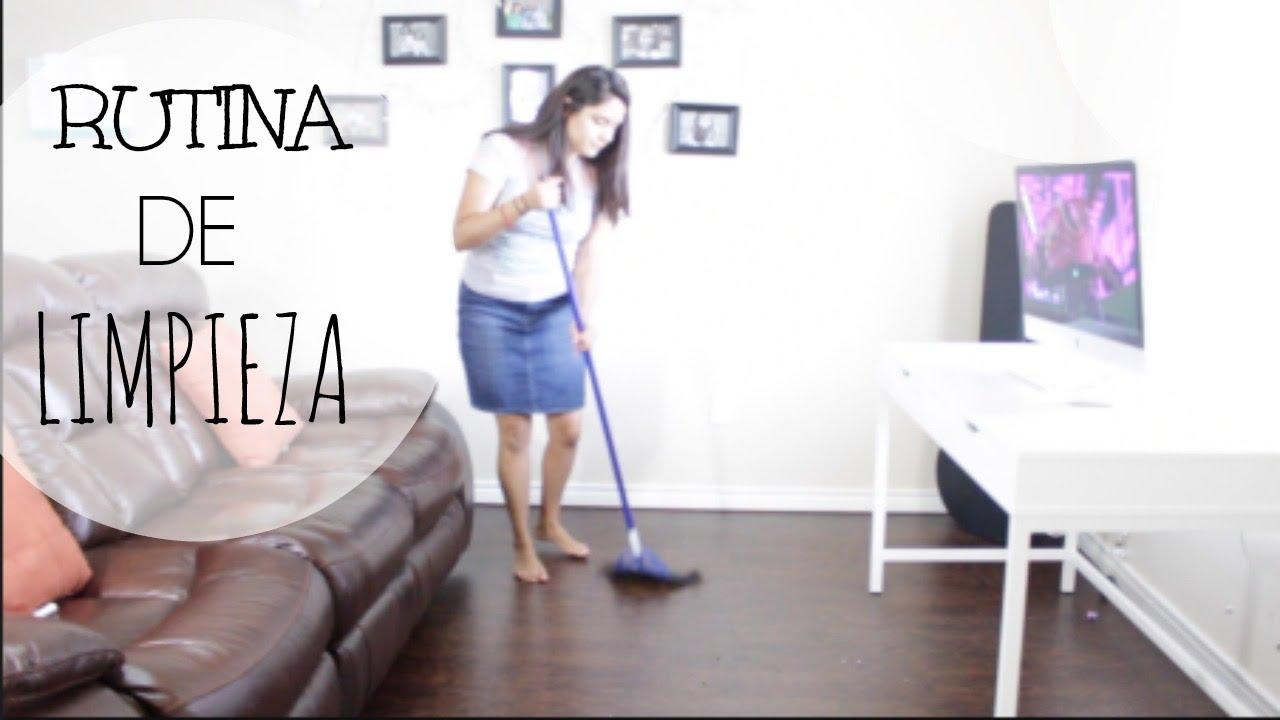 Rutina limpieza de casa youtube - Limpieza en casa ...