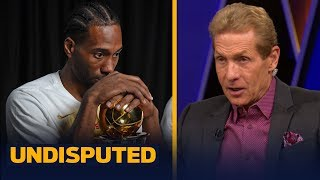 Kawhi is 'damaging his chances to win' by delaying FA decision — Skip Bayless   NBA   UNDISPUTED