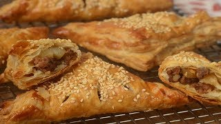 Sausage Potato Turnovers Recipe Demonstration - Joyofbaking.com