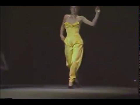 Betsey Johnson 1979 Fall Fashion Show