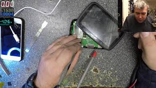 Learn how to swap/modify a battery, Tomtom go5000 low battery, shutting down, not charging