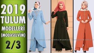 ModaSelvim Tesettür Tulum Modelleri 2019 - 2/3 | #Hijab #Jumpsuit | #modaselvim #tesettür #tulum