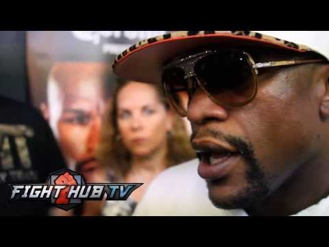 """Floyd Mayweather """"I never really paid attention to Canelo; he has nothing i've never seen"""""""